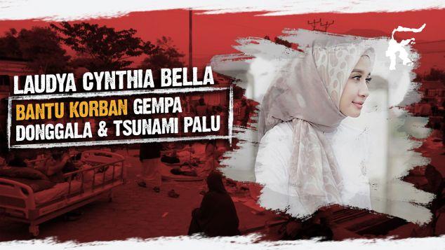 Laudya Cynthia Bella Bersama Palu-Donggala