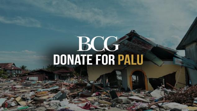 BCG #SocialImpact: Donate for Palu
