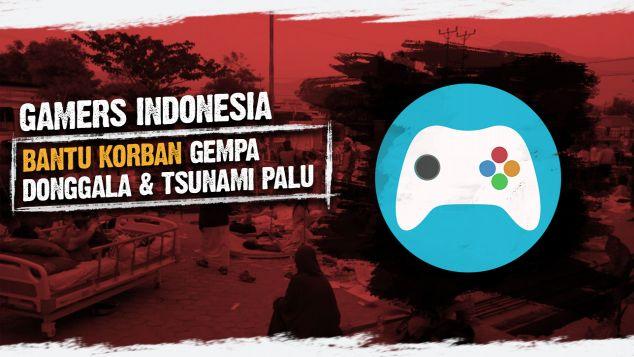 Gamers Indonesia Peduli Palu-Donggala