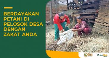 Zakat untuk Pemberdayaan Petani Bandung Utara