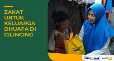 Zakat untuk Keluarga Dhuafa di Cilincing