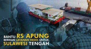 RS Apung Beri Layanan Medis untuk Sulawesi Tengah