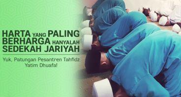 Patungan Pesantren Tahfidz