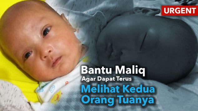 Maliq pejuang kecil sembuh dari ROP