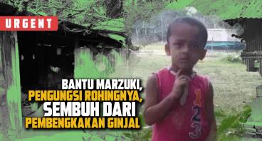Marzuki, Anak Rohingnya, Lawan Pembengkakan Ginjal
