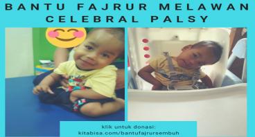 Bantu Fajrur Melawan Celebral Palsy