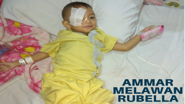 Bantu Ammar Melawan Monster Rubella Syndrome