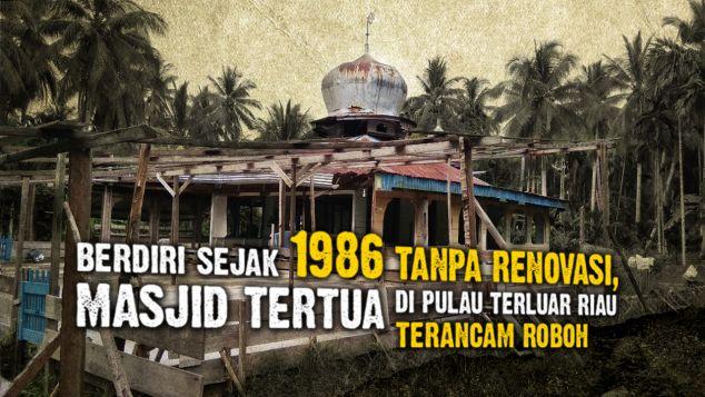 Terancam Roboh, Bantu Masjid Tertua Pelosok Mendol
