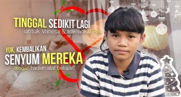 Kado Natal untuk Vanesa dan 1000 Anak Palu