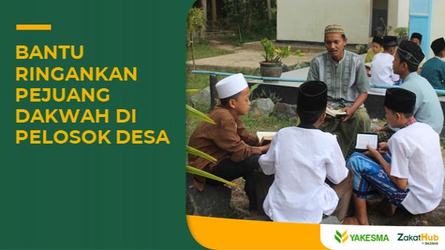 Zakat untuk Guru Mengaji dan Dai Pelosok Desa