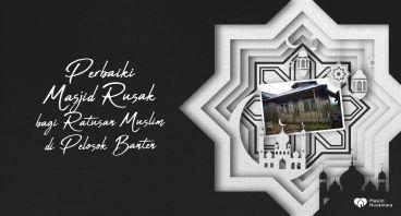 Selamatkan Masjid Cibedug di Pelosok Banten