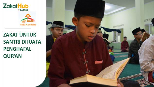 Zakat untuk Santri Dhuafa Penghafal Qur'an