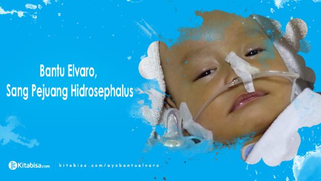 Bantu Elvaro Pejuang Hidrosephalus