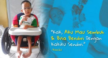 Bantu Kanzu! Anak 4 Tahun Melawan Bruck Syndrome