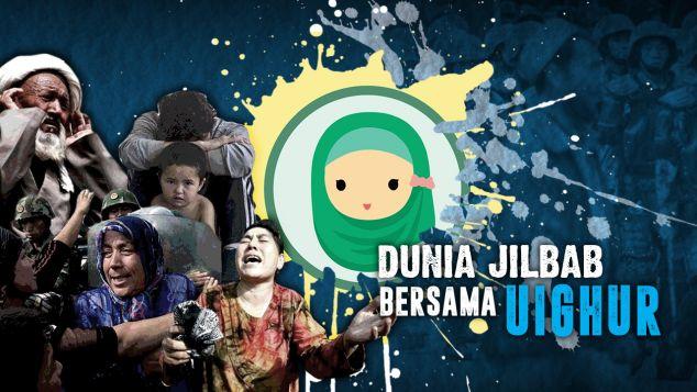 Dunia Jilbab Bersama Uighur