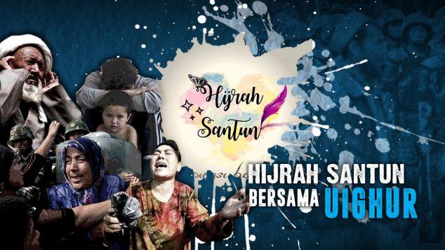 Hijrah Santun Bersama Uighur
