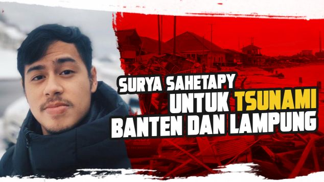 Surya untuk Tsunami Banten dan Lampung