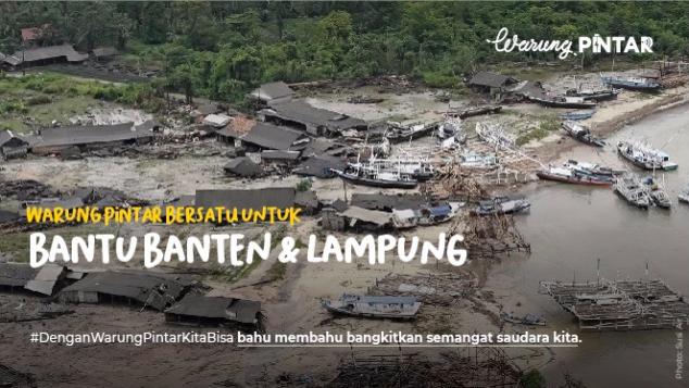 Warung Pintar Untuk Tsunami Banten