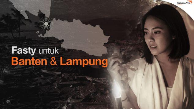 Bersama Fasty Bantu Tsunami Banten dan Lampung