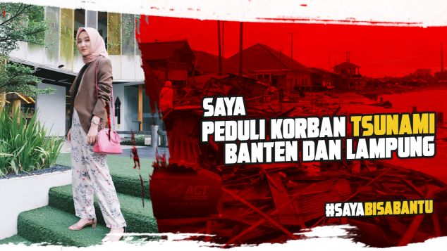 Balqis Untuk Tsunami Banten dan Lampung