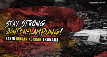 Bantu Korban Tsunami Banten dan Lampung!