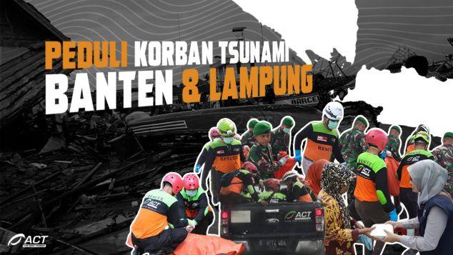 Peduli Tsunami Banten dan Lampung