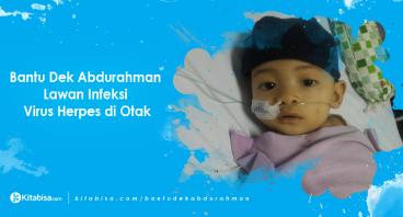 Bantu Abdurahman Lawan Infeksi Herpes di Otak