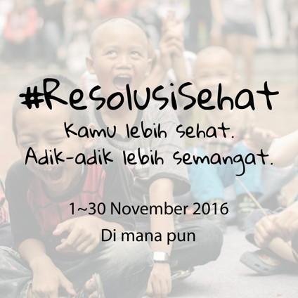 Movember 2016: #ResolusiSehat