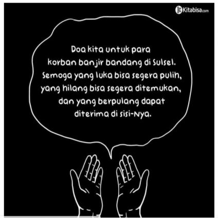 #PrayForSulsel