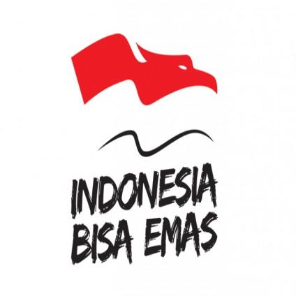 #IndonesiaBisaEmas