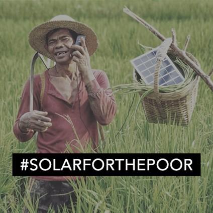 #SolarForThePoor
