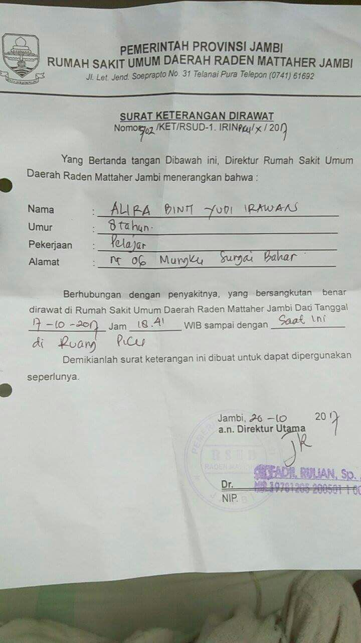 Klik Untuk Donasi Bantu Biaya Operasi Jantung Bocor Adek Alira