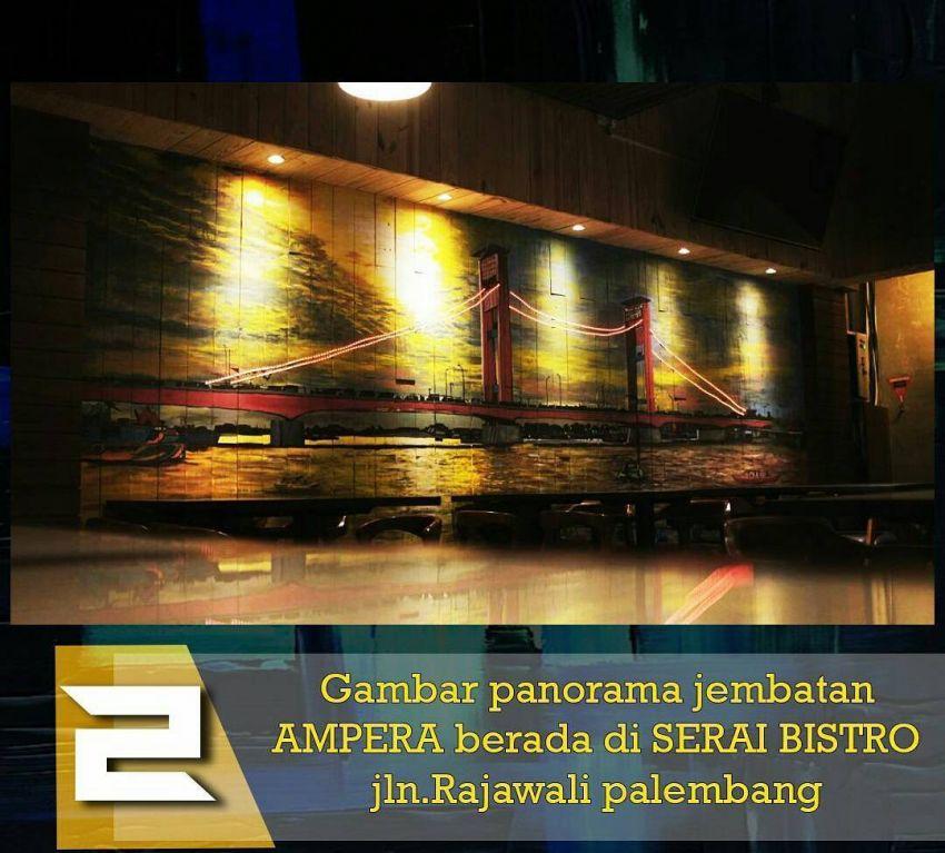Kitabisa Bantu Kami Mewarnai Kota Palembang Dengan Mural