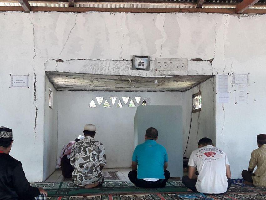 Donasi, Masjid, NTT