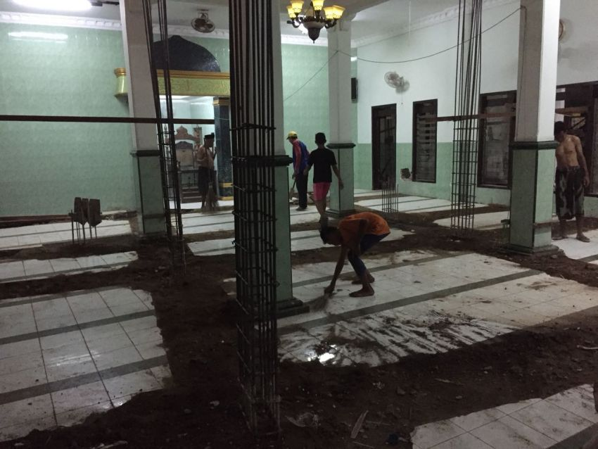 Giat Malam Pondasi Masjid