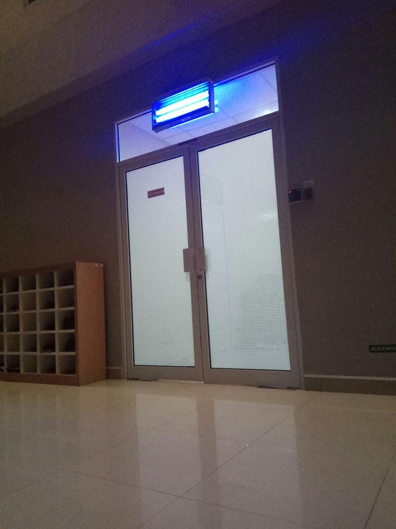 ruangan dimana dilakukannya operasi