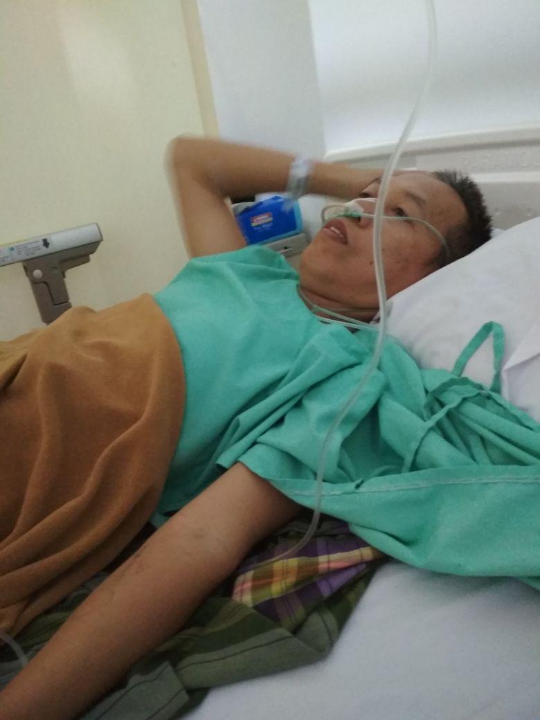 kondisi bapak 2 hari pasca operasi