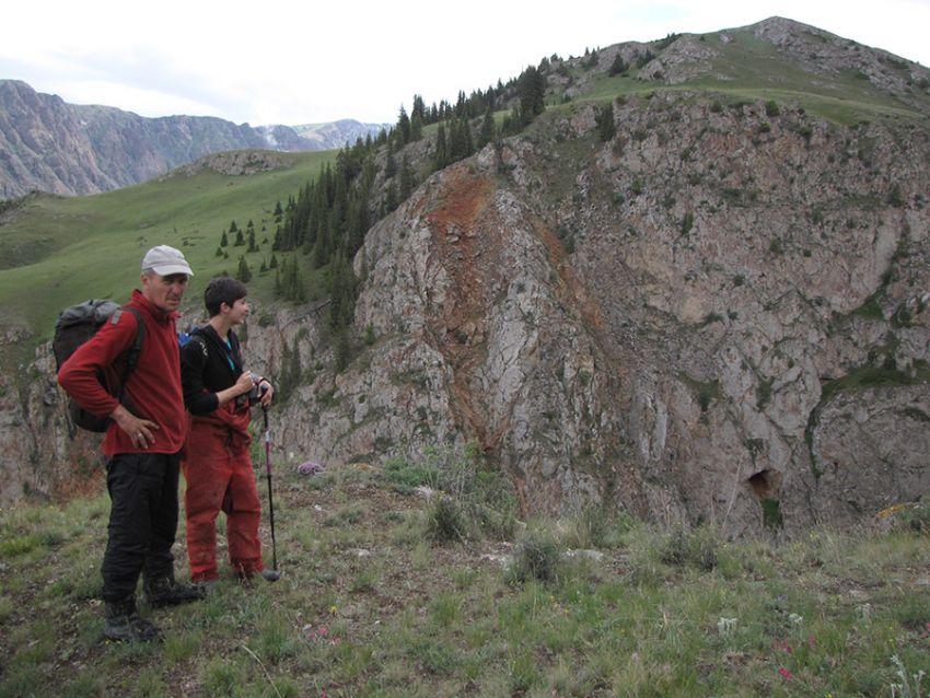 Gambaran lokasi ekspedisi (Sumber: FPEC Kyrgyzstan)
