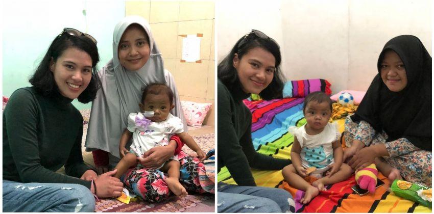 Bersama pejuang hati Aina dan Hira