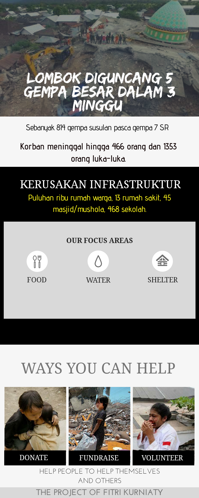 Kitabisa Bantu Korban Gempa Lombok Rumah Peduli Khusus 15 Jiwa 25c6953e2a5deb5e26876ffacea743db32811000