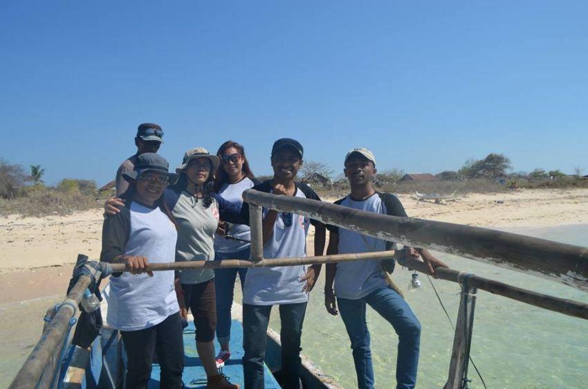 Perjalanan Tim Relawan GESER ke Pulau Kera