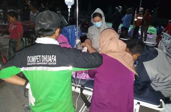 Layanan Kesehatan Dompet Dhuafa untuk korban gempa Lombok