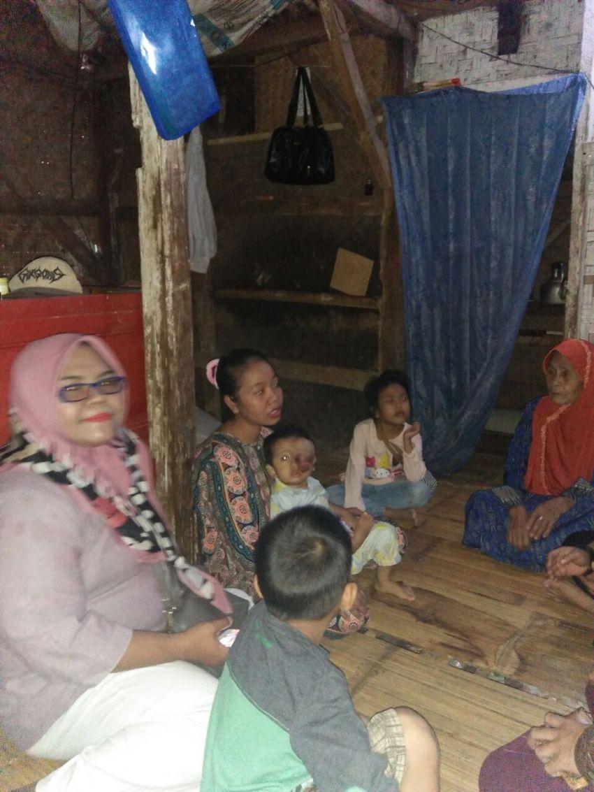 Perwakilan saat di rumah Bayi Maulana