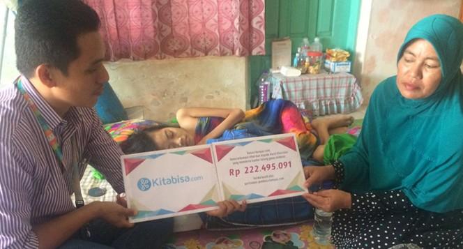 Diserang Kanker Ganas, Nurul Putus Sekolah